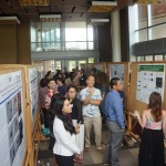 Undergraduate students at the  2016 Biomedical Symposium Undergraduate Poster Session
