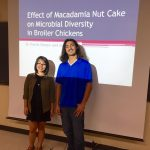 """Effect of Macadamia Nut Cake on Microbial Diversity in Broiler Chickens"" by Darcie Inouye and Jake Miller"