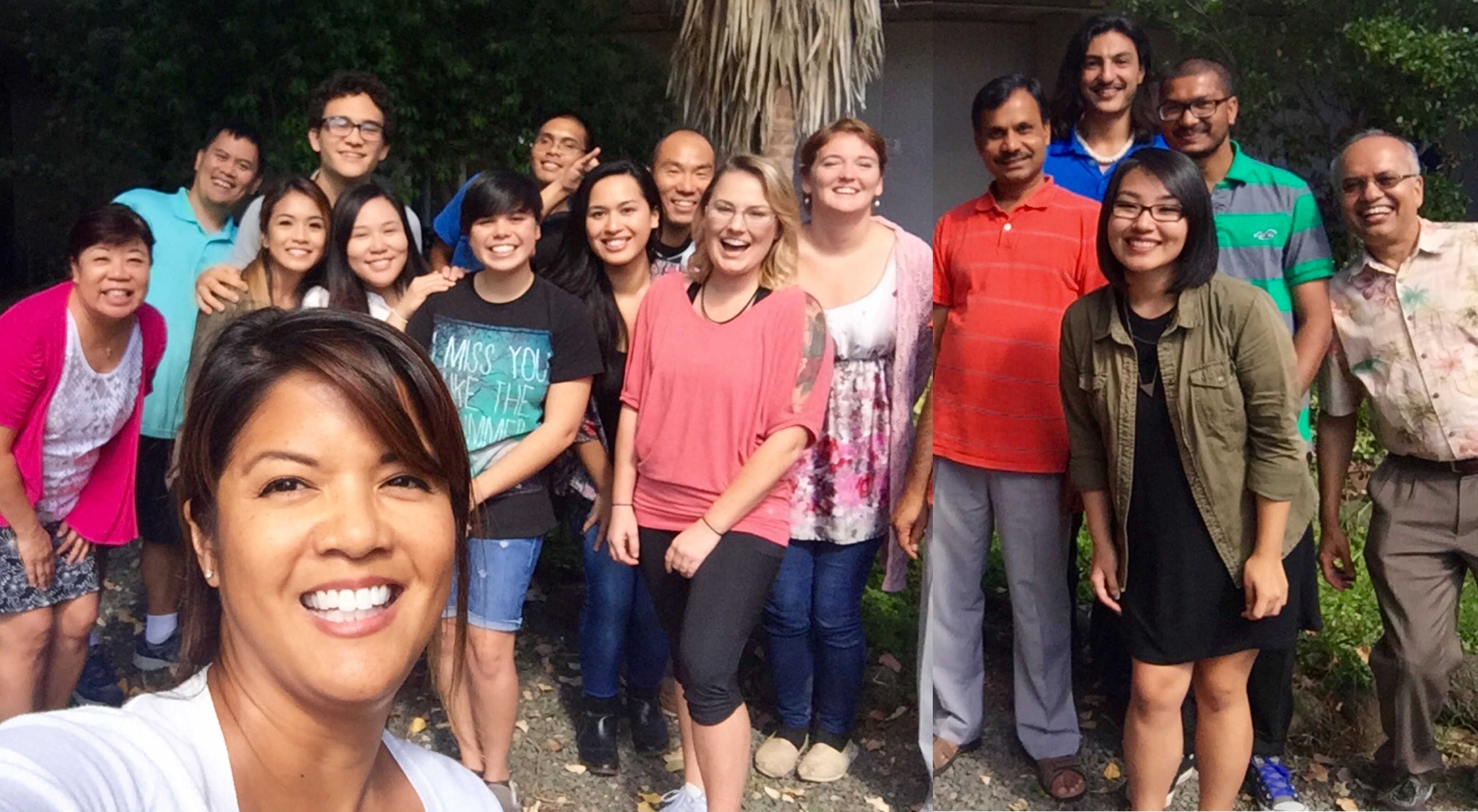 Group selfie with INBRE SRE Summer Students at Leeward Community College