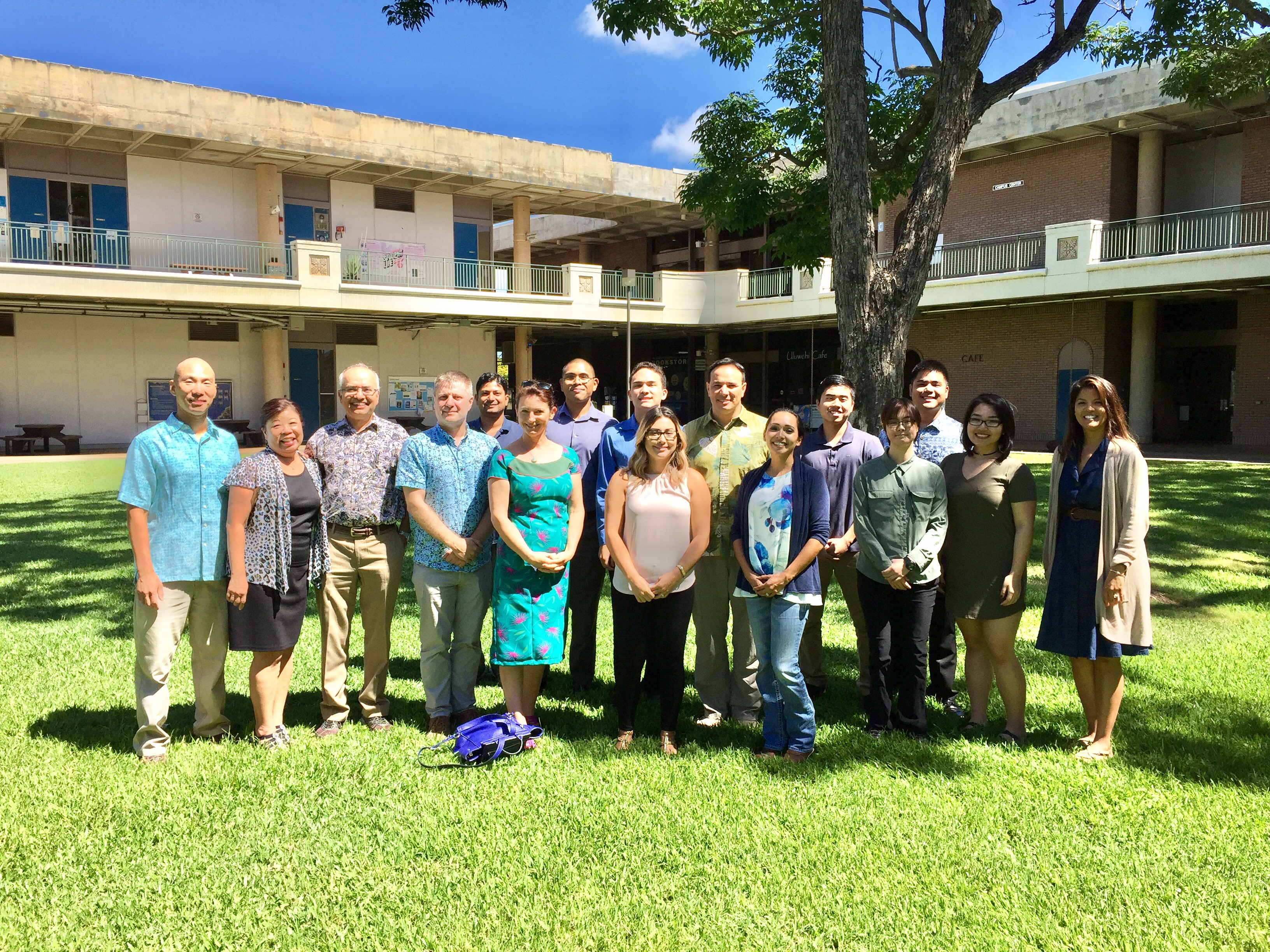 INBRE Program at Leeward Community College Summer 2017