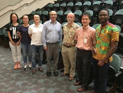 Dr. Martin Chalfie, Nobel Laureate from Columbia University, New York, visits UH JABSOM on November 17, 2016